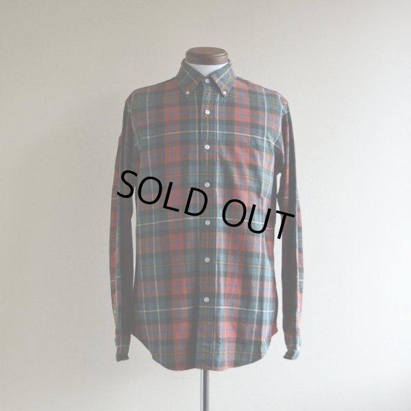 画像1: RalphLauren チェックBDシャツ  表記M