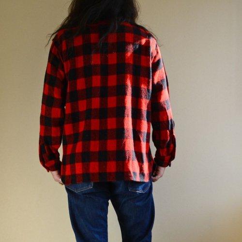 詳細画像3: 〜1960s WINTER KING マチ付きウールシャツ  実寸ML