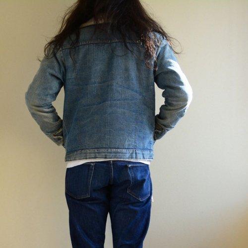 詳細画像3: 1970s Levi's デニムボアジャケット  実寸36(S)