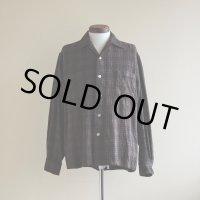 1960s BRENT ウールシャツ  表記L
