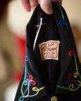 画像1: 1950s LasVegas ブラックレーヨン刺繍ウエスタンシャツ <br>実寸M<br> (1)