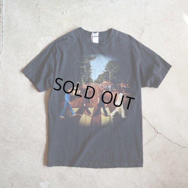 画像1: 1990s THE BEATLES ABBEY ROAD Tシャツ  表記L