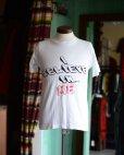 画像1: 1980s PRINT Tシャツ <br>両面プリント <br>表記M<br> (1)