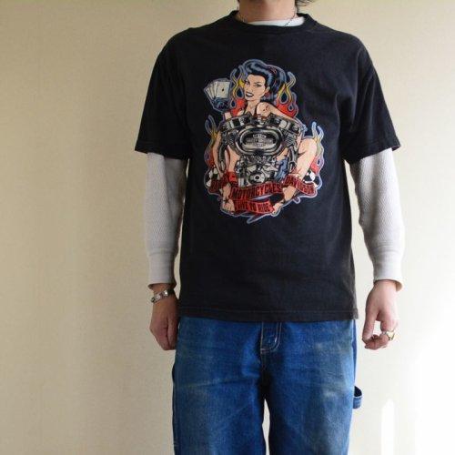 詳細画像1: 2016 Harley-Davidson Tシャツ  表記L