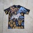 画像5: 1990s アニマル総柄Tシャツ  表記M