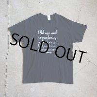 DAVID MAMET Tシャツ  表記L