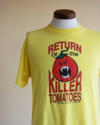 1980s Return of the Killer Tomatoes 映画Tシャツ  実寸ML