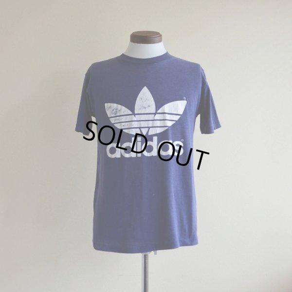 画像1: 1980s adidas トレフォイルTシャツ  表記M