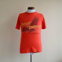 "1980s Harley-Davidson ""Never in the shadows"" Tシャツ  表記S"