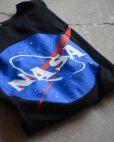 画像1: NASA ロゴプリントTシャツ <br>実寸XL<br> (1)