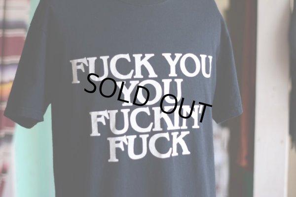 画像4: FUCK Tシャツ  表記M