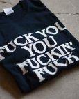 画像1: FUCK Tシャツ <br>表記M<br> (1)