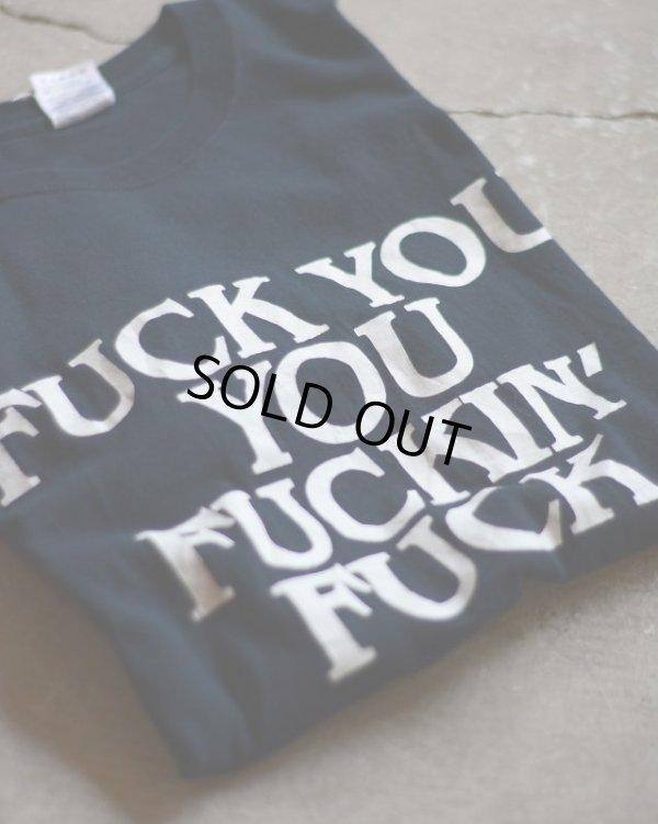 画像1: FUCK Tシャツ  表記M