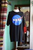 画像2: NASA ロゴプリントTシャツ <br>実寸XL<br> (2)
