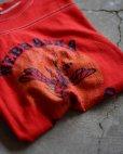 画像1: 1980s フットボールTシャツ <br>表記XL<br> (1)