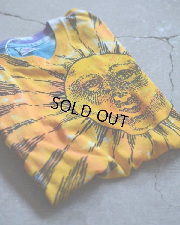 画像1: 1990s LIQUID BLUE SUN & MOON 総柄Tシャツ  表記XL