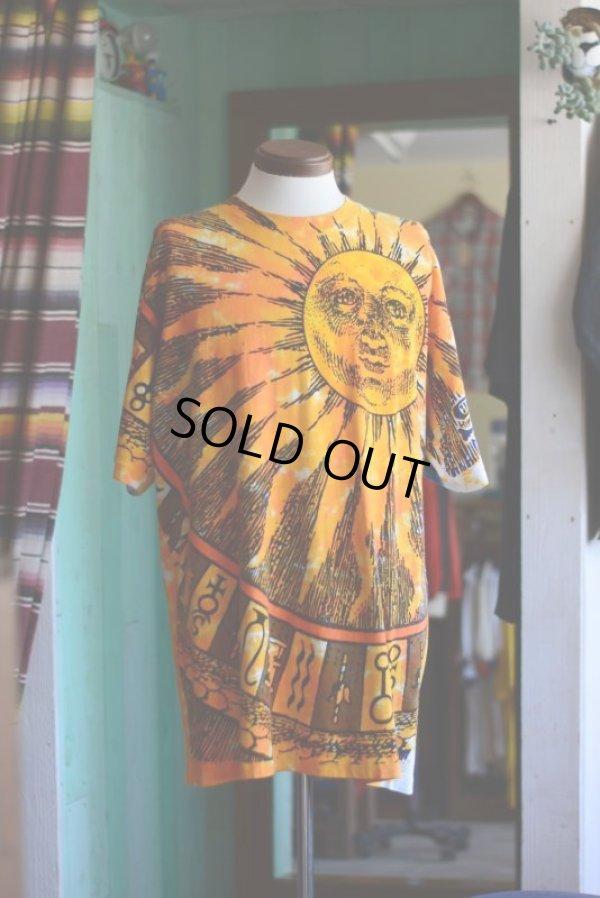 画像2: 1990s LIQUID BLUE SUN & MOON 総柄Tシャツ  表記XL