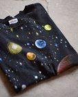 画像1: 1990s WILD OATS 宇宙Tシャツ <br>表記L<br> (1)