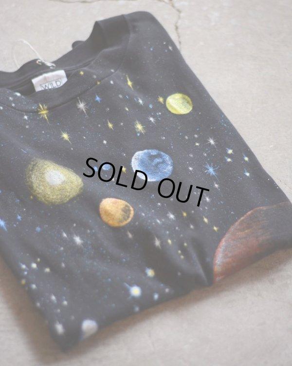 画像1: 1990s WILD OATS 宇宙Tシャツ  表記L