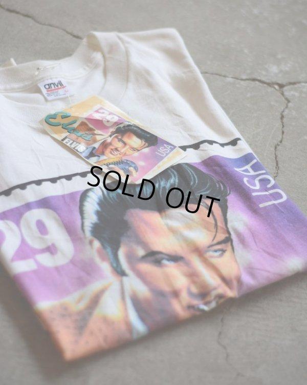 画像1: 1990s ELVIS 29¢Stamp Tシャツ  DEAD STOCK  表記L