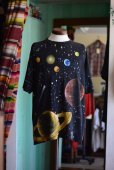 画像2: 1990s WILD OATS 宇宙Tシャツ <br>表記L<br> (2)