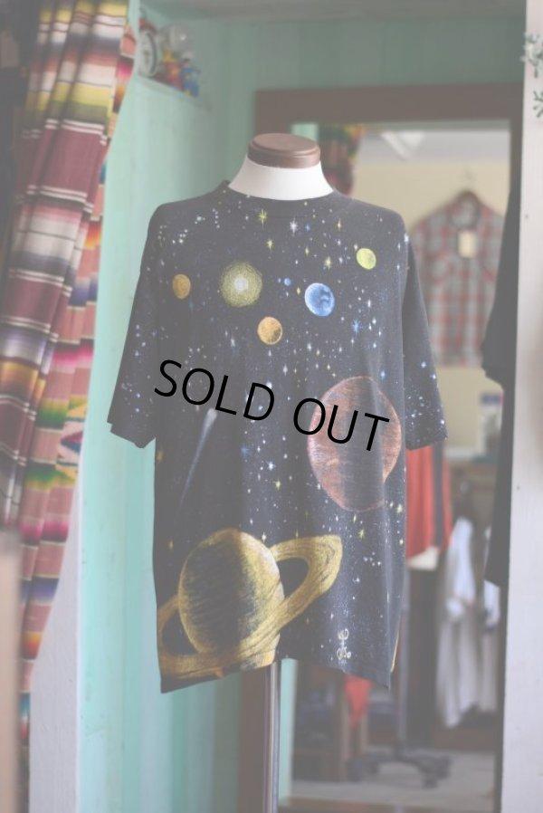 画像2: 1990s WILD OATS 宇宙Tシャツ  表記L
