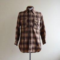 1970s PENDLETON ウールシャツ  表記15