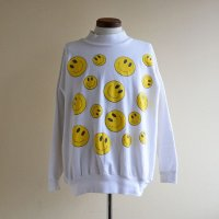 1990s SMILEY FACE スウェット  実寸L