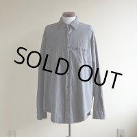 POLO JEANS Co. ブラックシャンブレーシャツ  表記XL