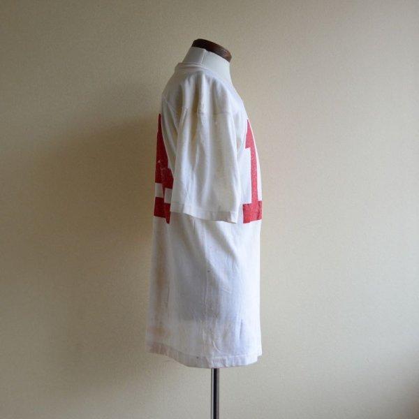 画像2: 1980s Champion ナンバリングフットボールTシャツ  表記M