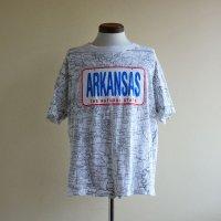 1990s ARKANSAS マップTシャツ  表記L