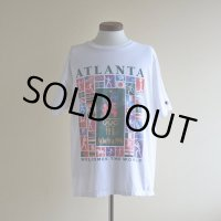 1990s Champion ATLANTA1996 プリントTシャツ  表記L