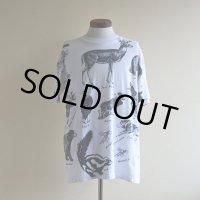 1990s アニマルプリント 総柄Tシャツ  MADE IN USA  表記L