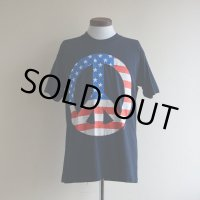 1990s PEACE プリントTシャツ  MADE IN USA  表記L