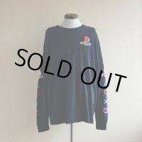 PlayStation ロゴプリント L/S Tシャツ  表記L